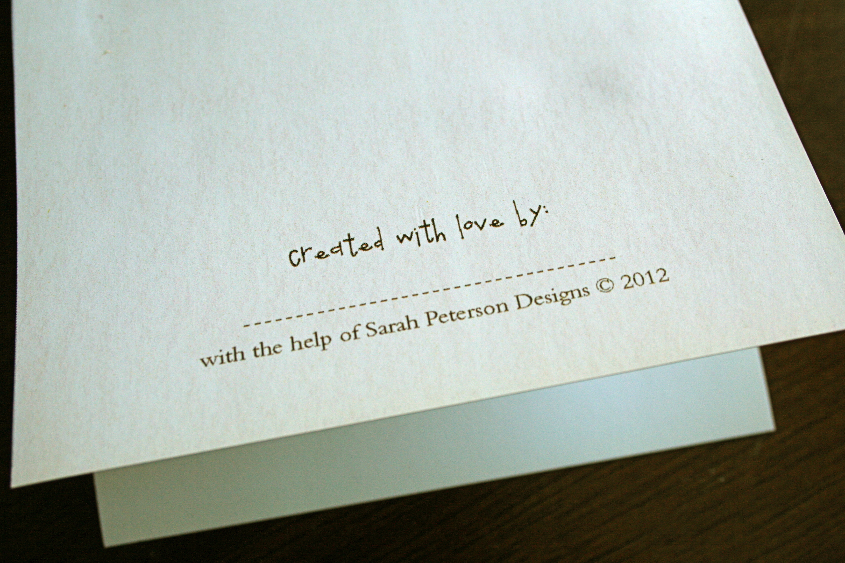 Do Not Complain If The Person You Love Don T Love You Back: Sarahpetersondesigns